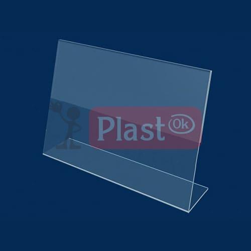 Горизонтальний притискний менюхолдер А6 L-подібний