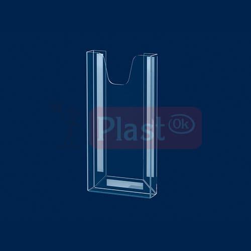 Вертикальна кишеня під флаєра на скотчі