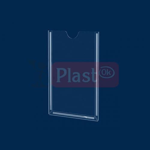 Потайний вертикальний карман А4 на скотчі