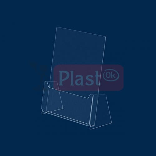 Пластикова підставка під поліграфію А5 формату