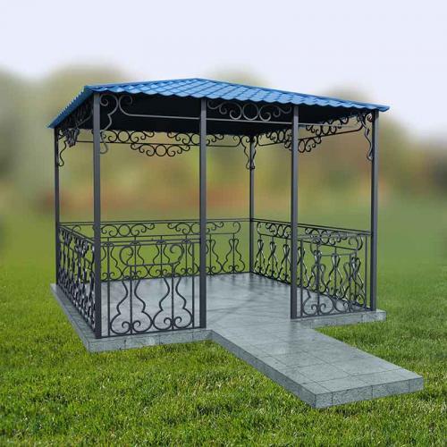 Садово-паркові металеві конструкції