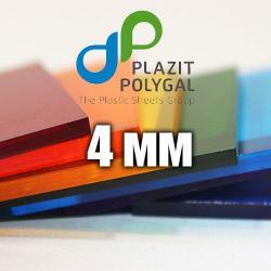 Лист прозорого монолітного полікарбонату 2.05х3.05м (MONOGAL), 4мм
