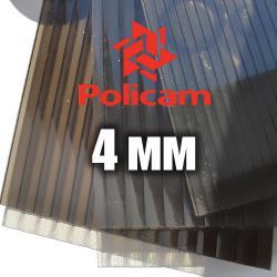 Лист бронзового стільникового полікарбонату (POLICAM), 4мм