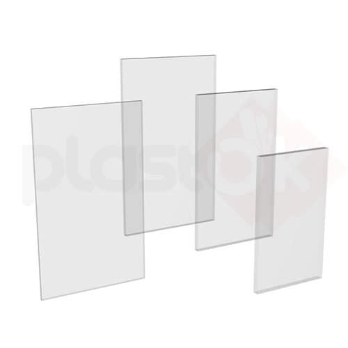 Лист прозорого монолітного полікарбонату 2.05х3.05м (Bauglas), 4мм