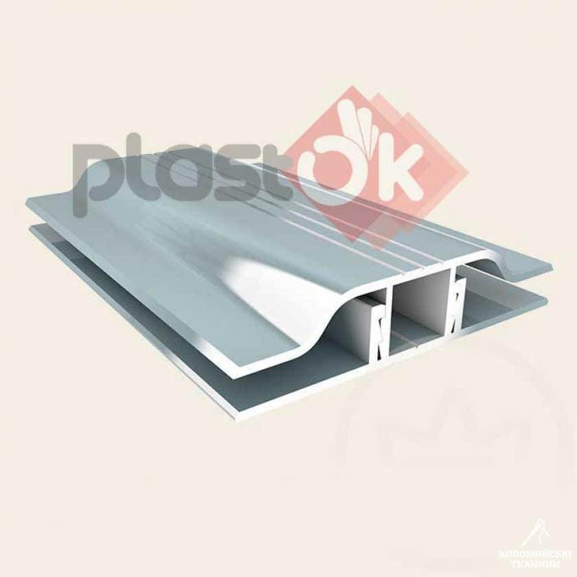Алюмінієвий профіль з'єднувальний (АПЗ) -  8мм