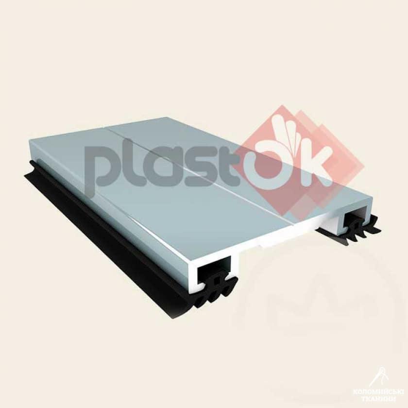 Алюмінієвий профіль прижимна кришка (АПК) -  40мм