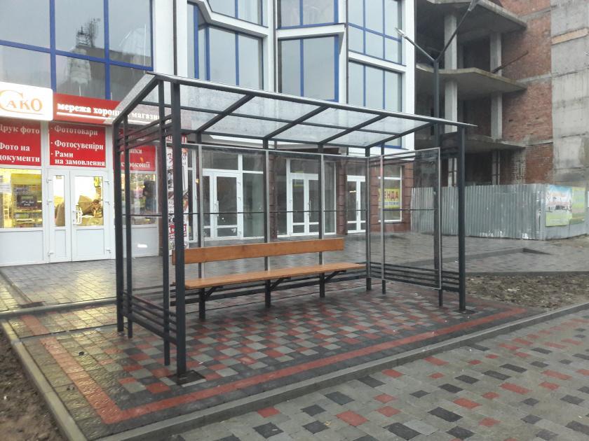 Автобусні зупинки