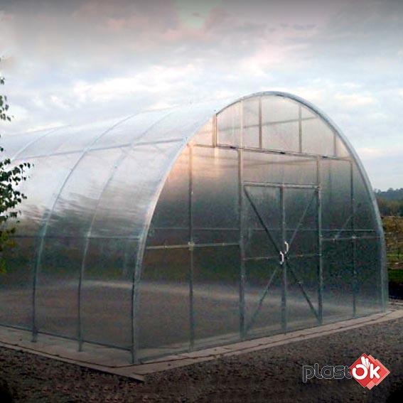 Фермерська теплиця 6х8х3.5м ФЕРМА-3500 (під плівку)