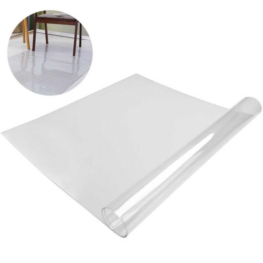 Захисний підлоговий килимок під крісло 0,8 мм 1250*2000 мм прозорий