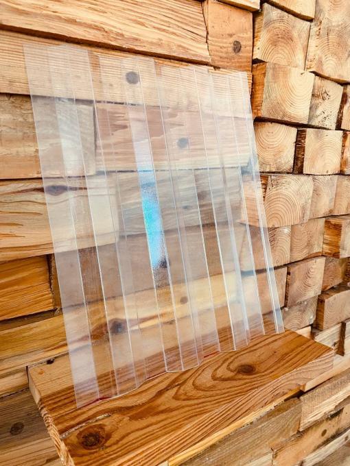 Профільований полікарбонат (1.05х6м) колотий лід