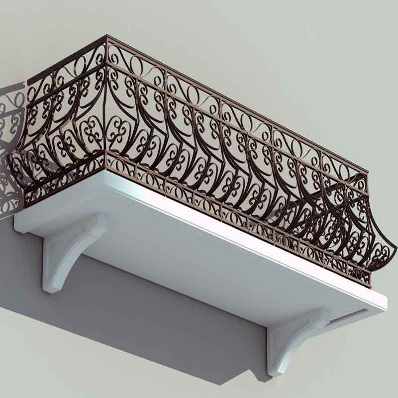 Балкони ковані