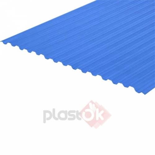 Профільований полікарбонат (6м х 1.05м) синій