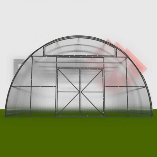 Фермерская теплица 6х8х3.5м ФЕРМА-3500 (под поликарбонат)