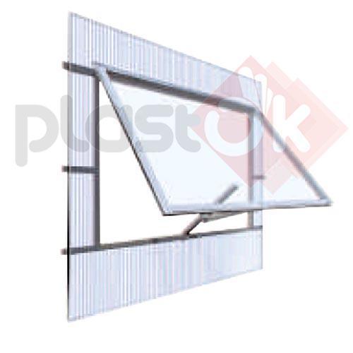 Слуховое окно для двухскатных теплиц