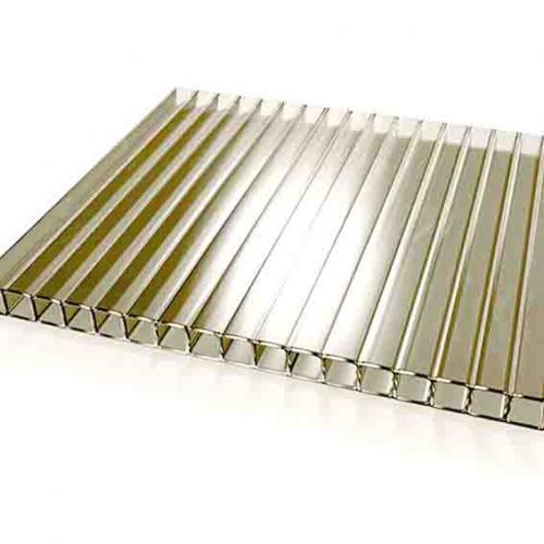 Лист бронзового сотового полікарбонату (IZOPOL) 10мм