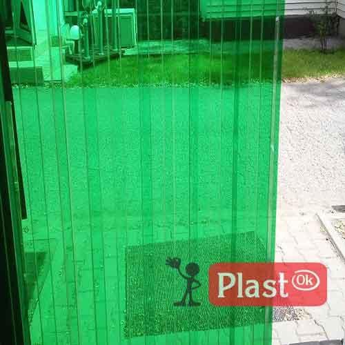 Профільований монолітний полікарбонат  Borrex (6м х 1.05м) зелений