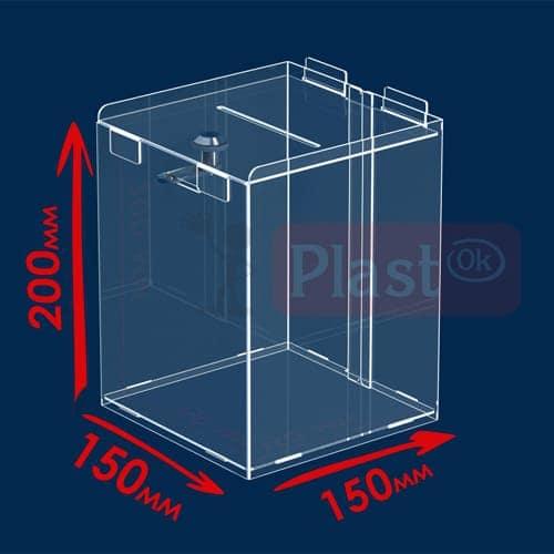 Ящик для благодійності 150х150х200